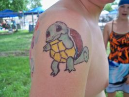 Squirtle Sharpie Tattoo by bueatiful-failure