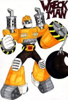 Dwn No.91: Wreck Man by GarthTheUndying