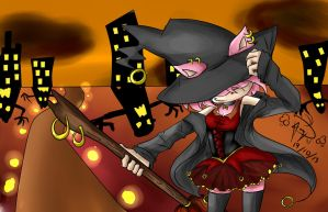 trick and treat (Amy Rose) by bakkaaaa