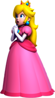 New Super Mario Bros Wii. U Princess Peach Artwork by xXCamTroXx