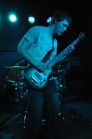 Jon playing his new bass by refract1