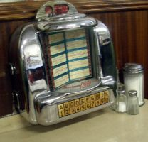 Canada - diner - jukebox 02 by barefootliam-stock