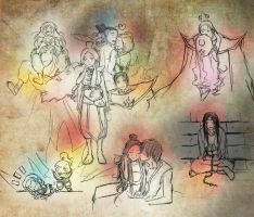 [Practice] ATLA Drawings and Stuff by ZutaraLives