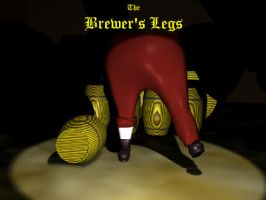 The Brewer's Legs pubsign by Kittybriton