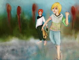 Let's dance in the rain and grow like mushrooms by Otai