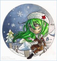 Chibi Ambre .Snow. by Cleox