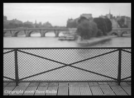 Two Bridges, Paris, 2001 by DaveR99