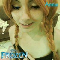 Anna - Frozen Cosplay by MowaZee