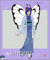 Gijinka Pokemon- Butterfree by Song64