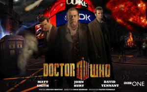 Doctor Who 50th Anniversary Poster 2 by CPD-91