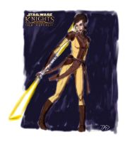 Bastila in progress by XAVERIVS