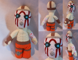 Psycho from Borderlands Plush by FuzzyAliens