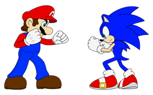 Mario Vs. Sonic: Ready... Set... by Zero20-2