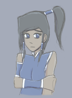Legend of Korra - Redone Korra by JaredHedgehog
