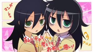 Watamote tomoko by munro12