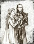 Loki and Frigga by Muirin007