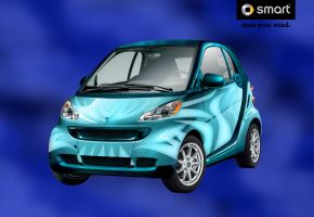 Deep Blue -Smart Car by minikozy92