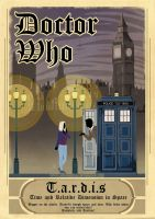 Doctor Who : Tribute Poster by Red-Sinistra