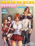 Bigger Better Clones cover by zzzcomics