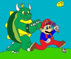 Out run the Koopa King by SlySonic