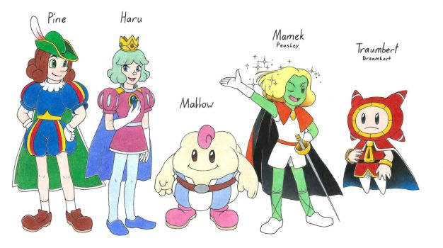 The Mario Princes by Megaloceros-Urhirsch