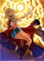 :Super Girl: by ElmerSantos