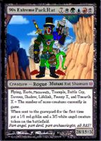 90s Extreme PackRat MTGCard by BooRat