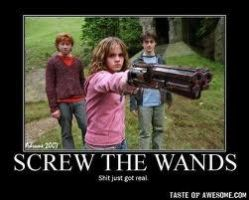 Screw the wands by Iloveremus