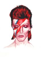 Ziggy Stardust by PolandSprang
