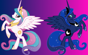 Princess Luna from Princess Celestia by Ace-of-Trades