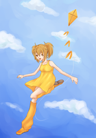 Yellow in the Sky by doyouneedtokno
