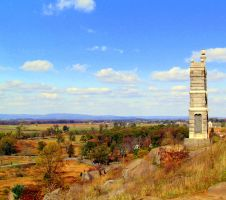 A Monument to GettysBurg by RealityIntolerant