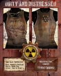 Tan and Tattered Tank Top 002 by DirtyandDistressed