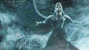 Sephiroth psp wallpaper -2- by AndrewArdena