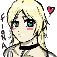 + Fiona Sketch + by demoness