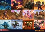 Free Realms Card Arts Compilation by Luches