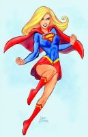 Supergirl by Dave Hoover by Mythical-Mommy