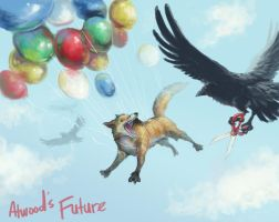 Album Cover Atwood's Future by digitalyear