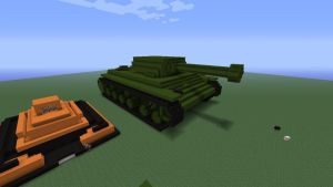 mincraft KV-1 by eliteracer