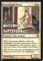 Stoneforge Mystic - LOLCat by BlackWingStudio