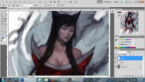 WIP | LoL: Ahri by Milled