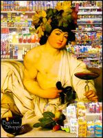 Bacchus shopping by comteskyee
