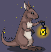 - commission: wallaby. by Ducktrot