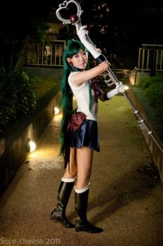 Sailor Pluto Smile by miwitch