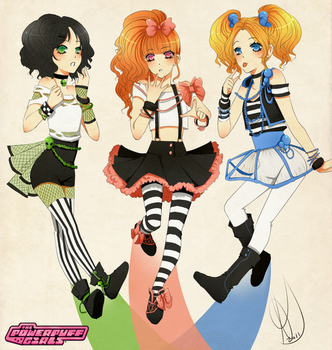 The PowerPuff Girls by NeverSincerely