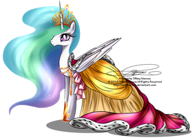 Gala Fashion 2016 -Princess Celestia by selinmarsou