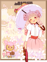 ee: Cherry Blossom Bebe by golden-essence