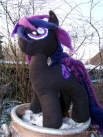 'Violet Spell' (MLP Plushie) by Costumy