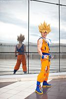 Cosplay Goku Ssj .:Are you ready?:. by Alexcloudsquall