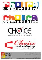 Logotypes for Choice Advertisi by MadreMedia